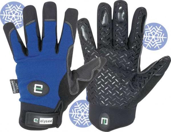 Freezer Schutzhandschuh schwarz/blau