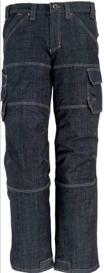 WILHELM - FHB Stretch Jeans-Arbeitshose