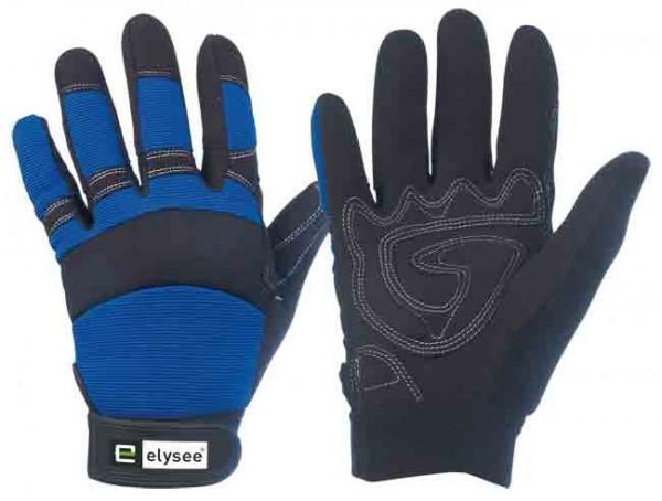 Master Schutzhandschuh schwarz/blau
