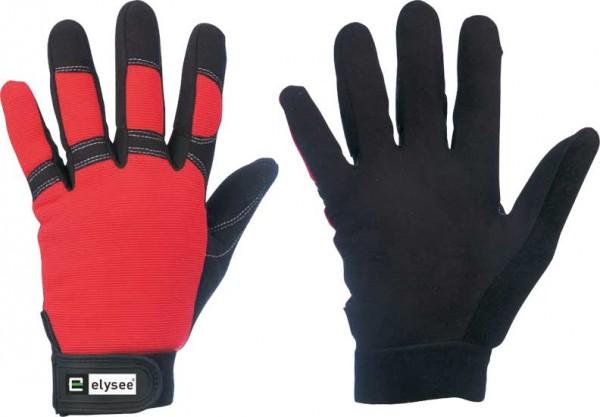 Technican Schutzhandschuh schwarz/rot