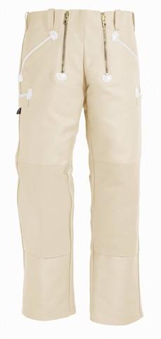 KLAUS - FHB Zunfthose Zwirn-Doppelpilot - Englisch Leder - Cordura-Knietaschen